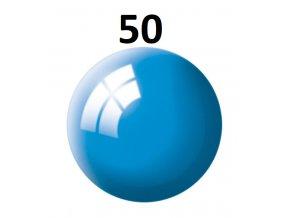 Revell barva (50) akrylová nebo emailová (light blue gloss)