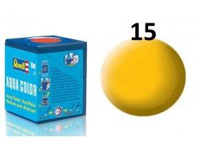 Revell barva akrylová - 36115: matná žlutá (yellow mat)