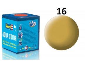 Revell barva akrylová - 36116: matná pískově žlutá (sandy yellow mat)