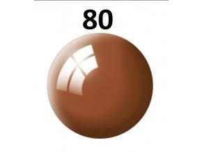 Revell barva (80) akrylová nebo emailová (mud brown gloss)