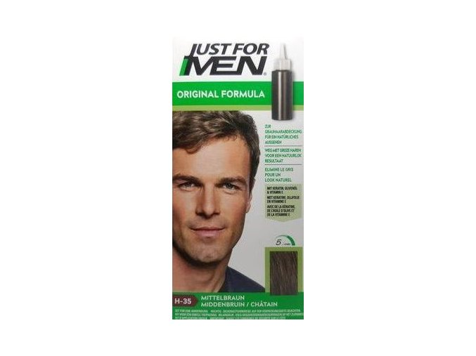 JFM hair medium brown new