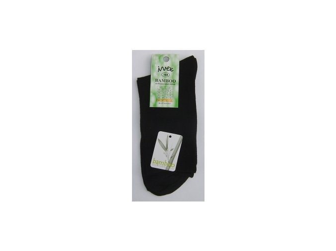 Společenské ponožky z BAMBUSOVÉHO vlákna - černé (velikost 41-42)