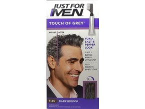 824 Touch of Gray tmavě hnědá