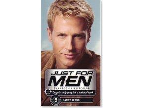 JFM hair sandy blond