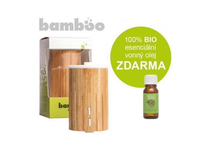 Difuzér Bamboo je vyroben z přírodního bambusu, nejedná se o imitaci. Je tedy velice odolný a velmi elegantní, hodí se do většiny interiérů.
