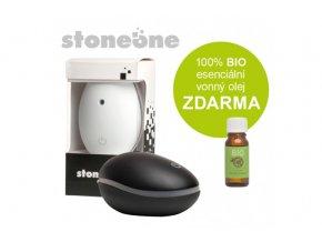 stoneone ultrasonicky aroma difuzer hanscraft cerna