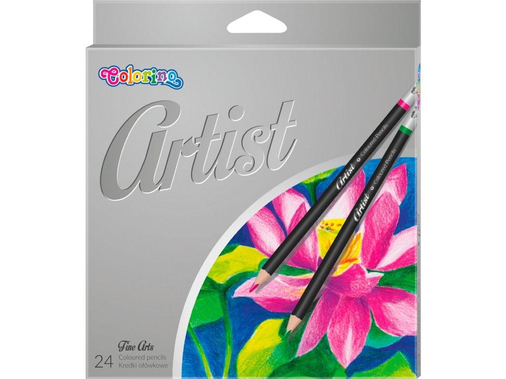 pastelky artist umelecke colorino 24 ks