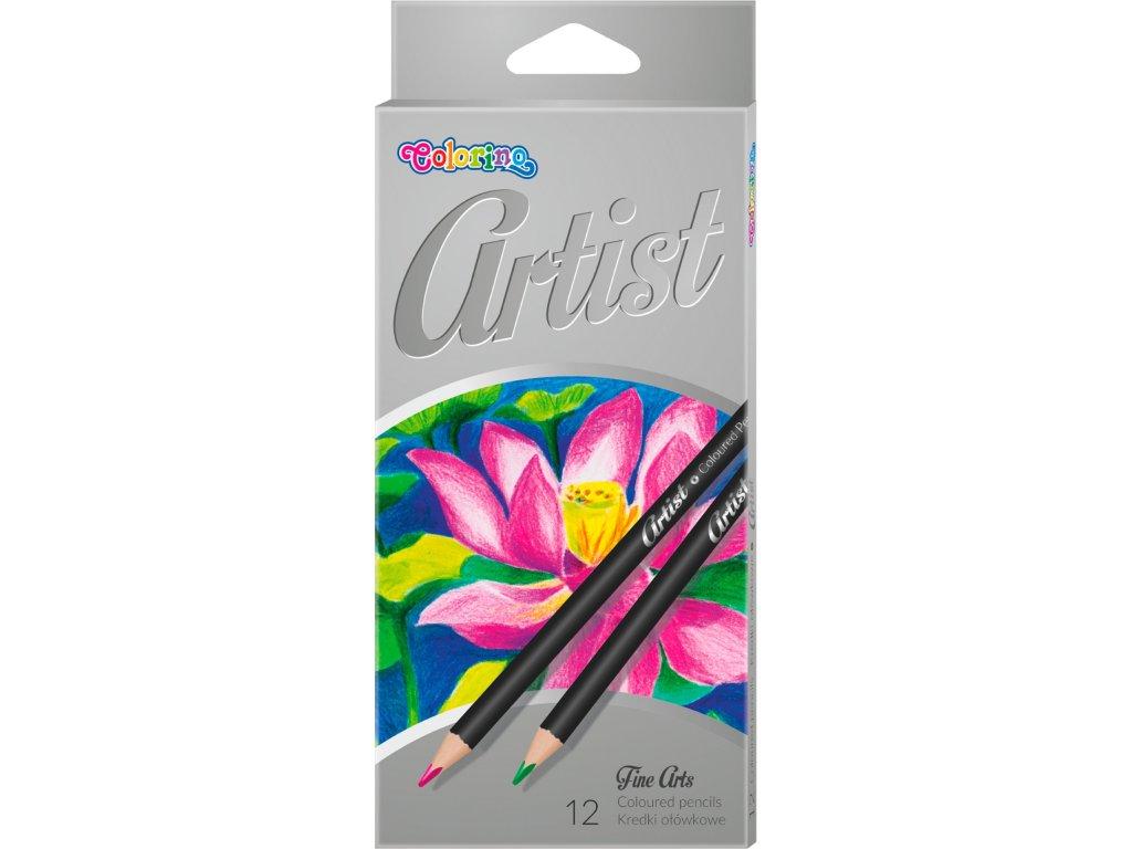 pastelky artist umelecke colorino 12 ks