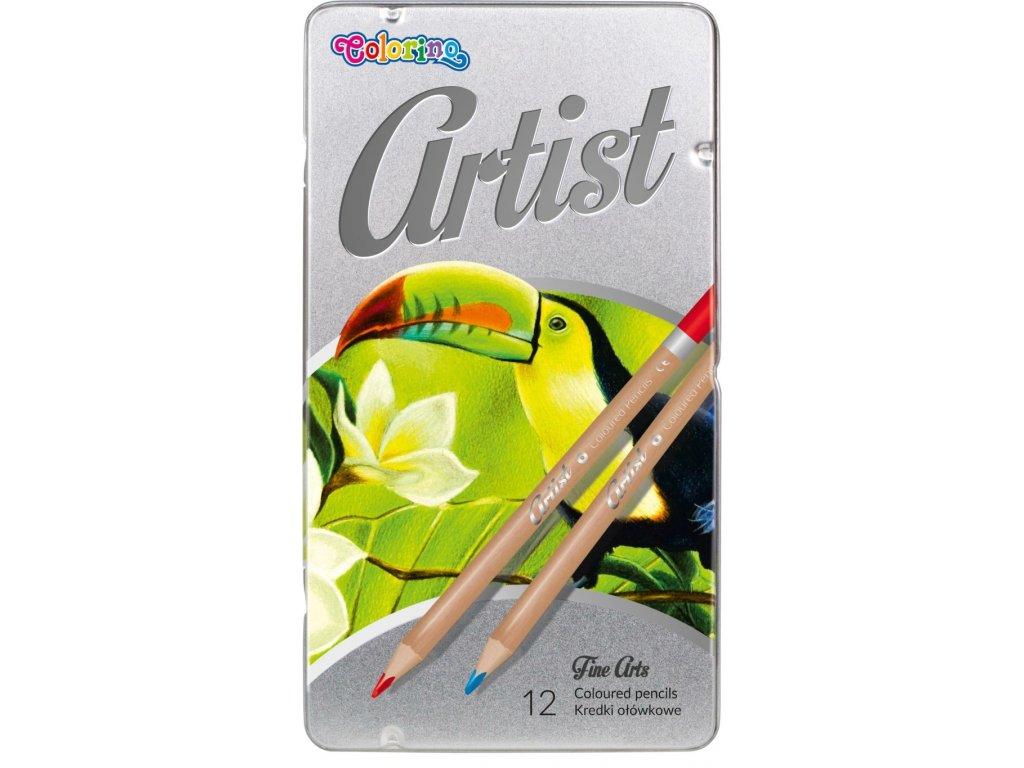 pastelky artist umelecke colorino 12 ks box