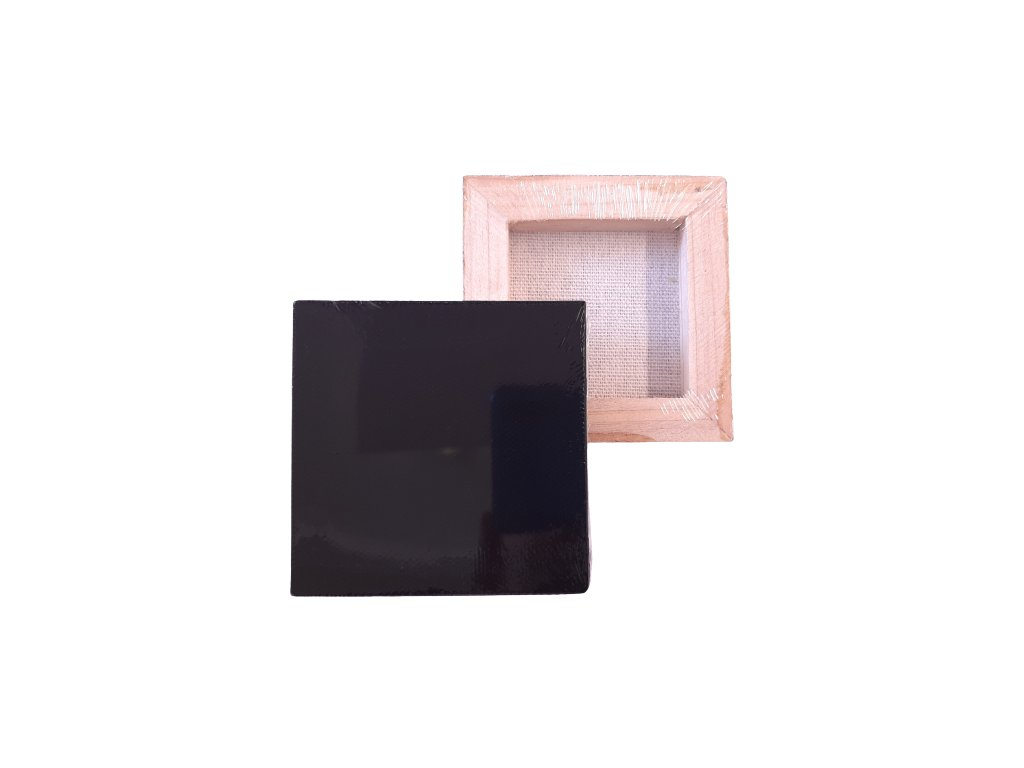 malirske platno mini cerne