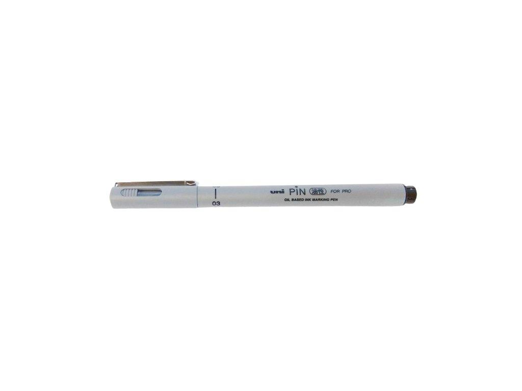 kreslici pero uni pin for pro 03 olejovy