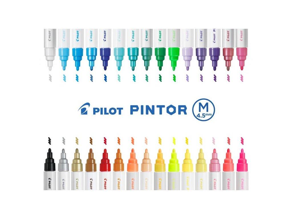pilot pintor akrylova fixa M