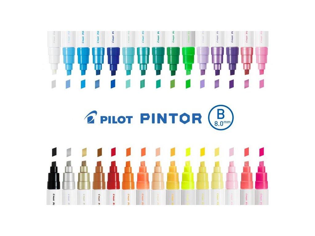 pilot pintor akrylova fixa B