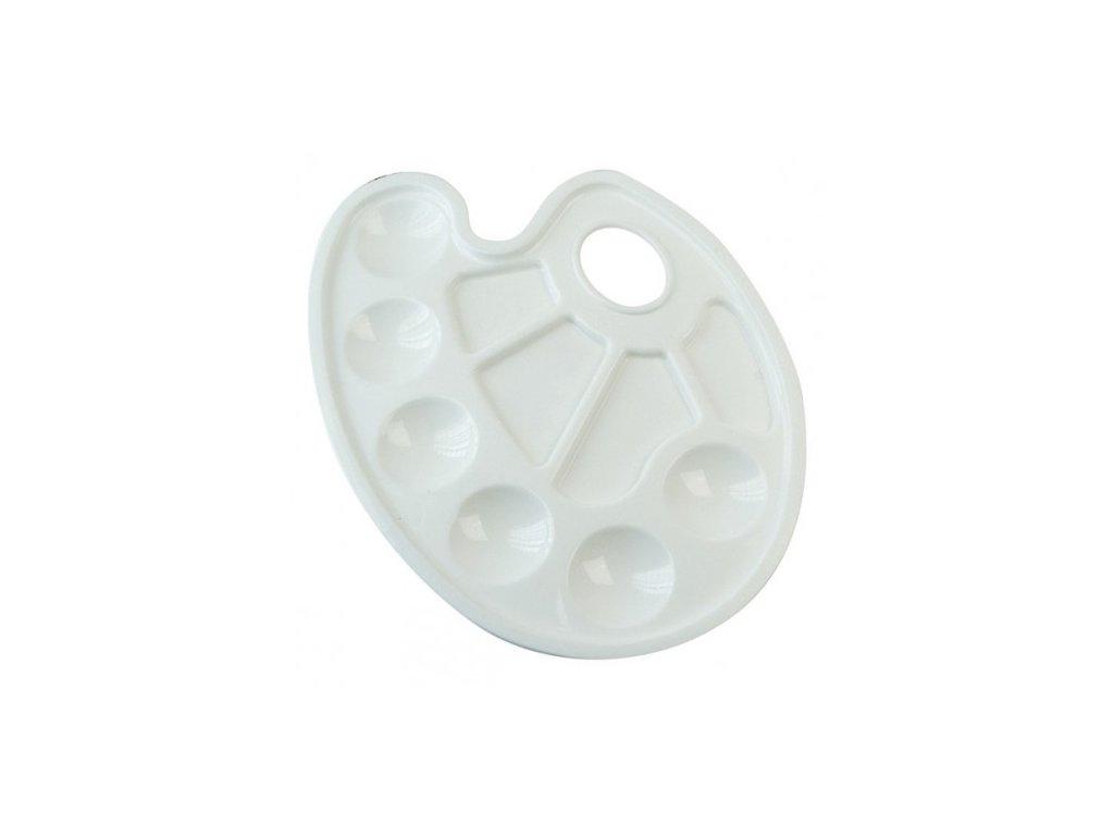 malirska paleta ovalna plastova