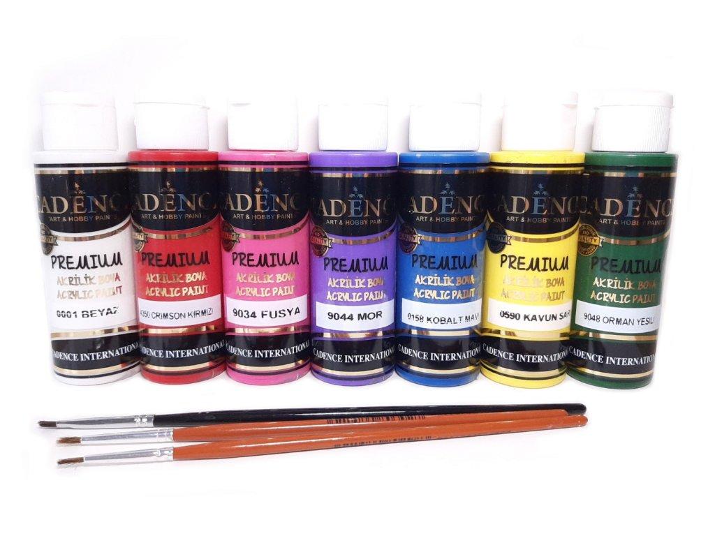 cadence premium akrylove barvy