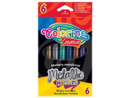 Metalicke fixy colorino 6 ks