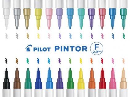 pilot pintor akrylova fixa F