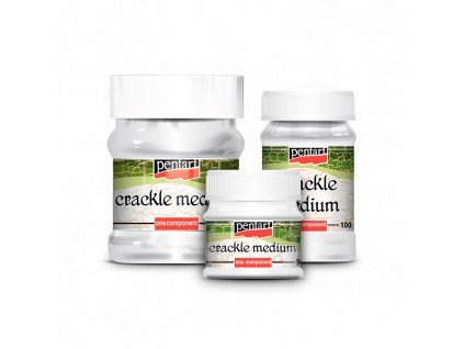 crackle medium pentart crakelovaci medium