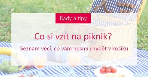 Co si vzít na piknik? Seznam věcí, co vám nesmí chybět v košíku