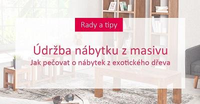Údržba nábytku z masivu: Jak pečovat o nábytek z exotického dřeva
