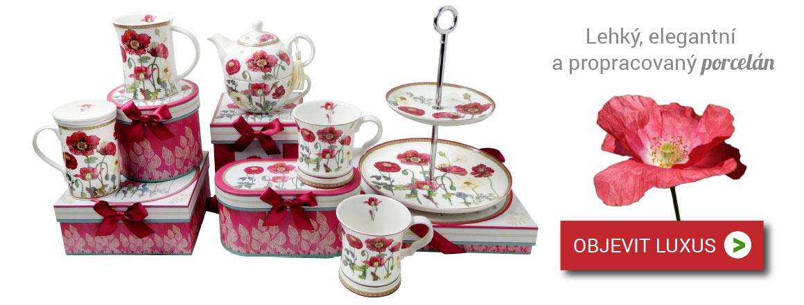 luxusní porcelán