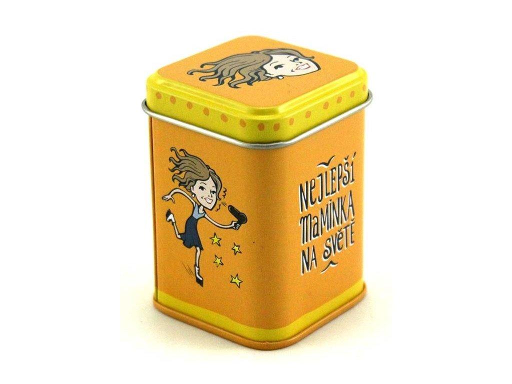 12765 plechova krabicka 4 5x4 5x6 6 cm nejlepsi maminka