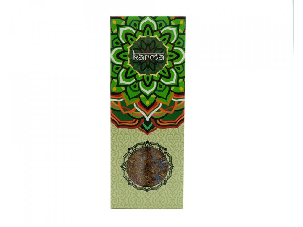 17214 bylinny caj mandala zelena