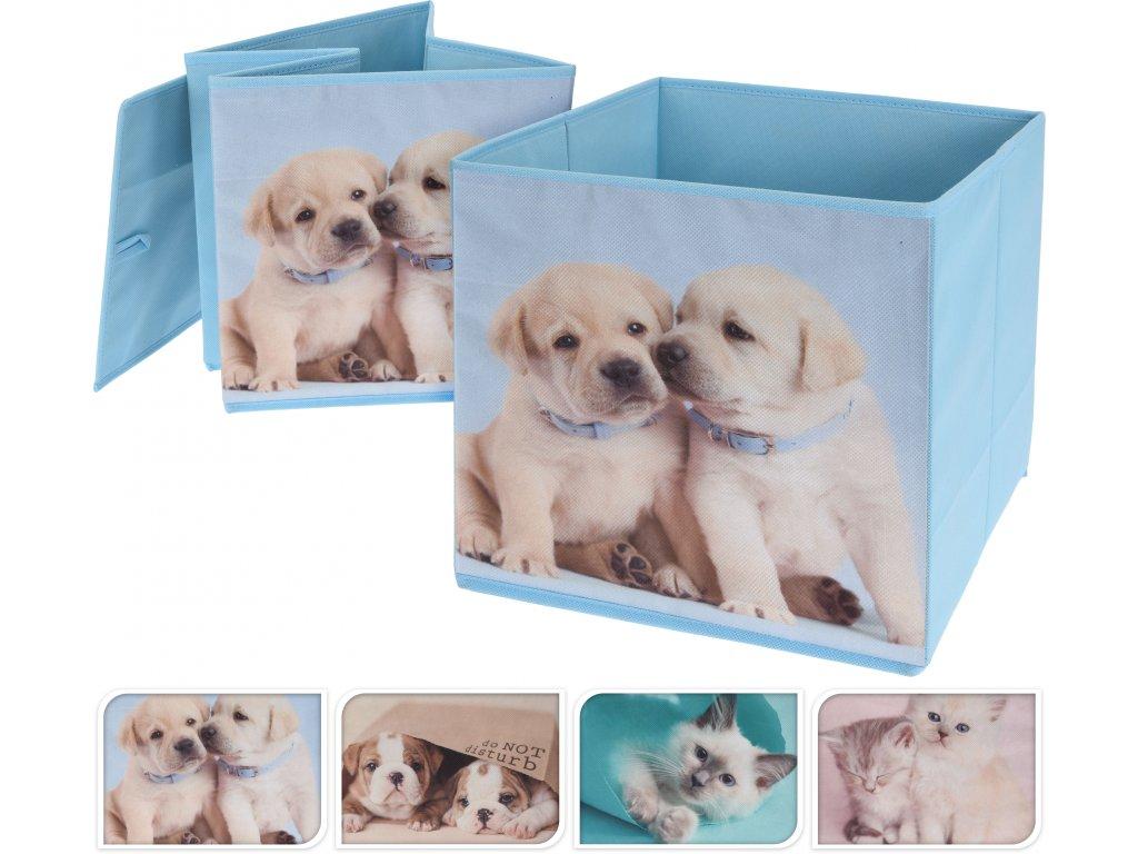 Textilní úložný box (Druh 4)