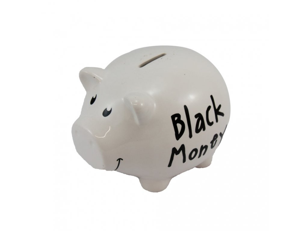 51242 velka kasicka na penize black money