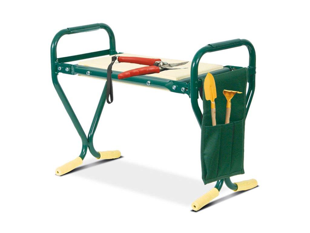 Zahradní stolička + klekátko 2v1 ZSK21