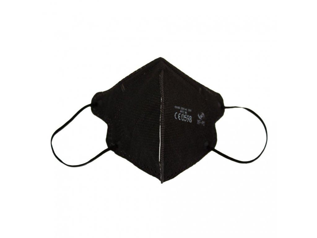 Dětský respirátor FFP2 NR Junior iprotect , balení 20 ks, černý
