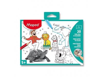 Cestovní Mini hry Maped 15 x 20 cm