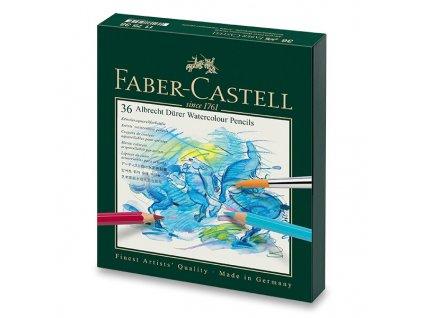 Akvarelové pastelky Faber-Castell Albrecht Dürer 117538 studio box, 36 barev