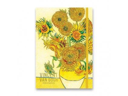 Náčrtník Shkolyaryk Sketch & Note Art A5, tečkovaný, 80 listů, mix motivů