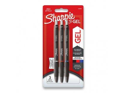 Kuličková tužka Sharpie S-Gel 3 ks