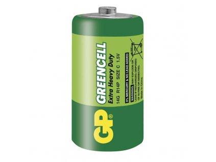 Zinkochloridová baterie GP R14 C