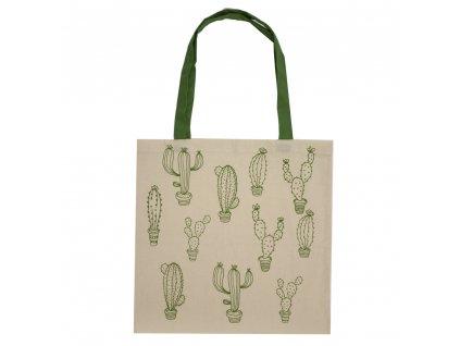 36233 bavlnena taska kaktusy