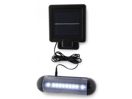 Nástěnné solární LED světlo s externím panelem SL-3008