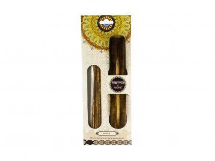 Vonné tyčinky 20 ks + dekorativní stojánek vanilka, II. jakost