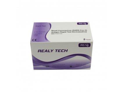 SARS-CoV-2 Antigen Rapid test ze slin, balení 5 ks
