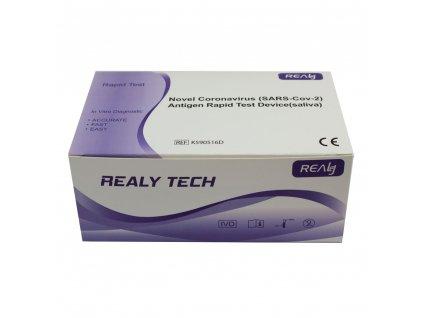 SARS-CoV-2 Antigen Rapid test ze slin, krabička 20 ks