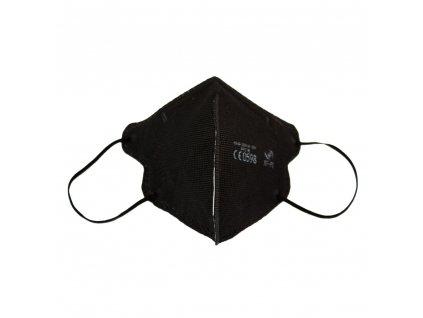 Dětský respirátor FFP2 NR Junior iprotect , balení 10 ks, černý
