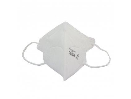 Dětský respirátor FFP2 NR Junior iprotect , balení 10 ks, bílý
