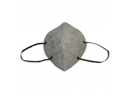 Respirátor FFP2 NR iprotect, balení 10 ks, šedý