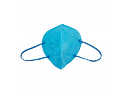 Respirátor FFP2 NR iprotect, balení 20 ks, světle modrý