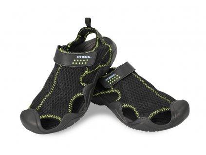 Pánské sandály černé