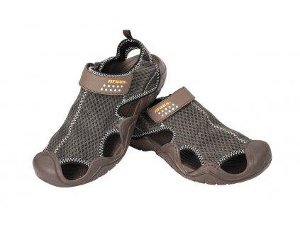 Pánské sandály hnědé