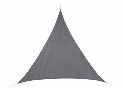 Stínící plachta trojúhelník 4m - šedá
