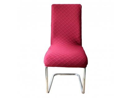 Potah na židli, červená