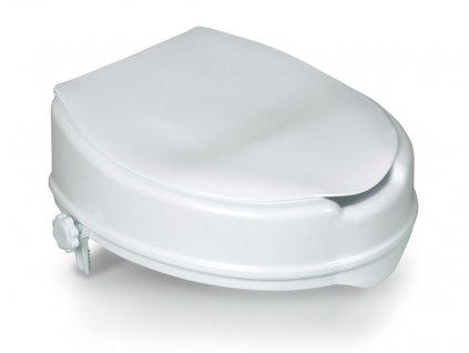 Zvýšené sedátko na WC s poklopem BT430